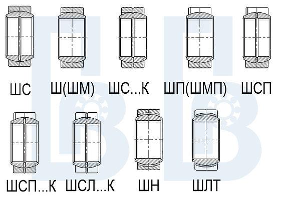 Подшипники ШСП, ШСЛ, ШС, Подшипник Волга, pdsar