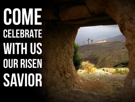 CELEBRATE THE RISEN KING!