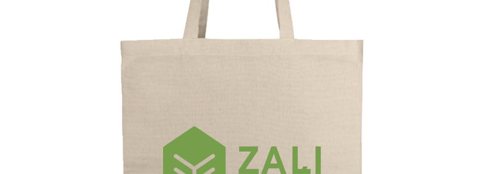 Zaļi pakots maisiņš