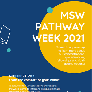 WELCOME TO YOUR MSW PATHWAY WEEK!