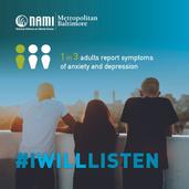 #IWillListen during Mental Health Awareness Week