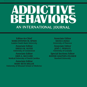 Martin Hochheimer and George Jay Unick Published in Addictive Behaviors