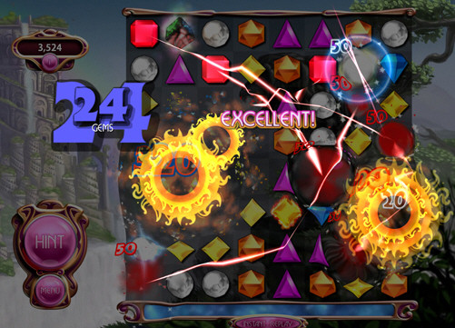 Bejeweled 3 by PopCap, The King of Feedback.