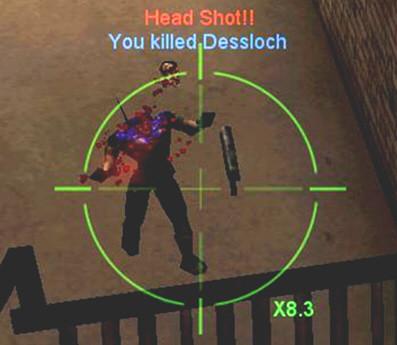 Headshot in Unreal Tournament