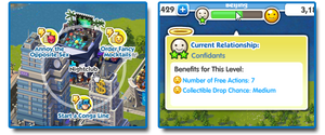 Sim City Social relationship
