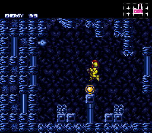 ...the player gets the payoff, and feels like a genius for remembering this spot from the original game.