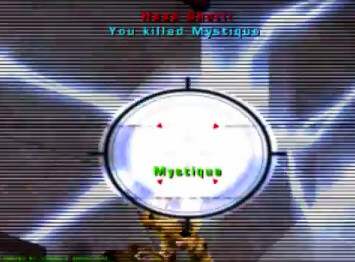 Headshot in Unreal Tournament 2003