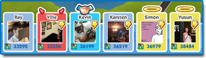 SimCity Social Relationship with friends