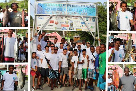 Tobago Freedive Spearfishing Challenge 2015