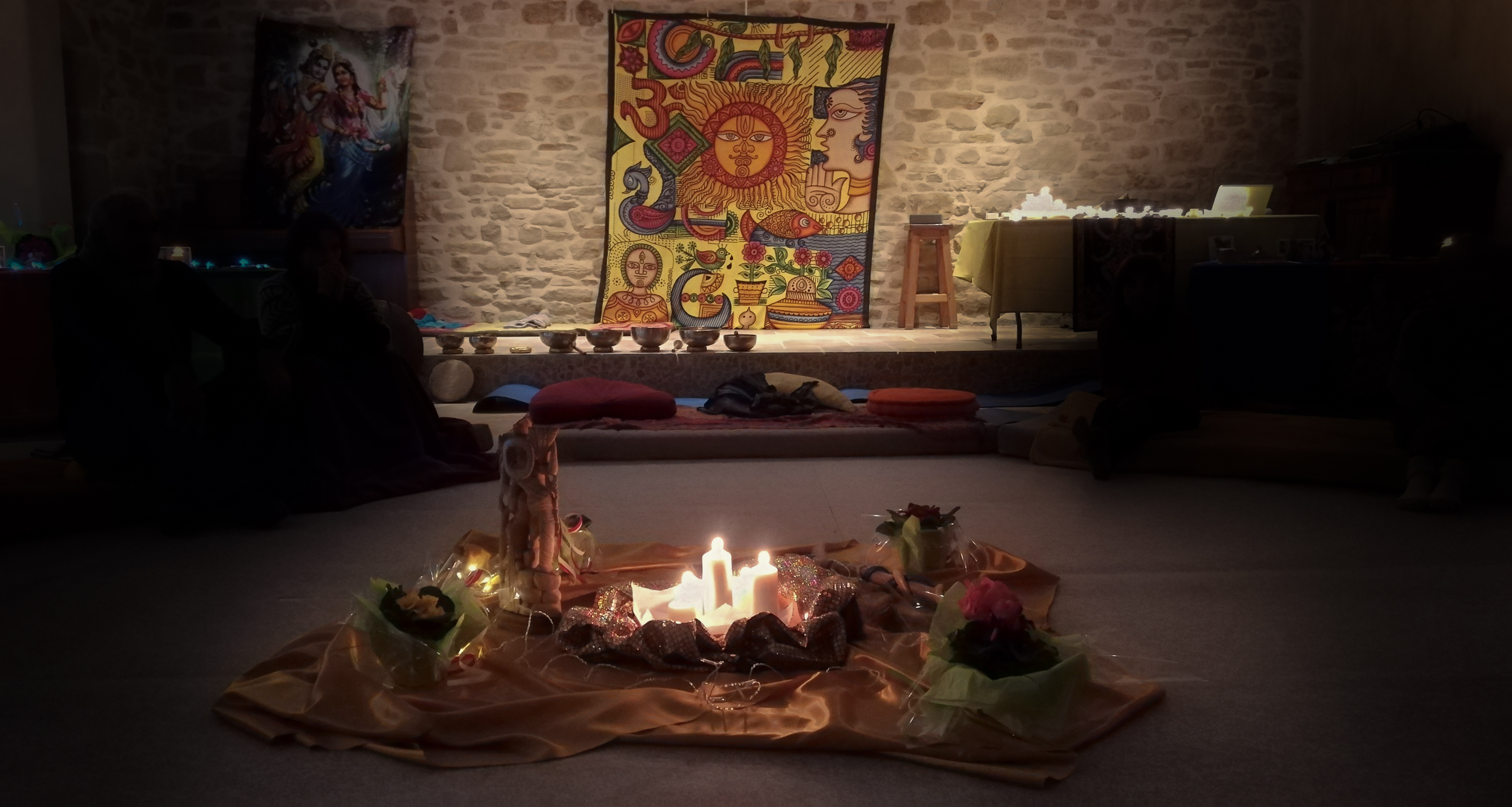 2017 12 29 Simiane la rotonde  Abbaye de