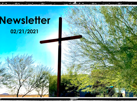 02/21/2021 Newsletter