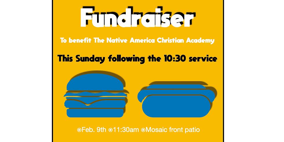 Hot dog and Burger fundraiser