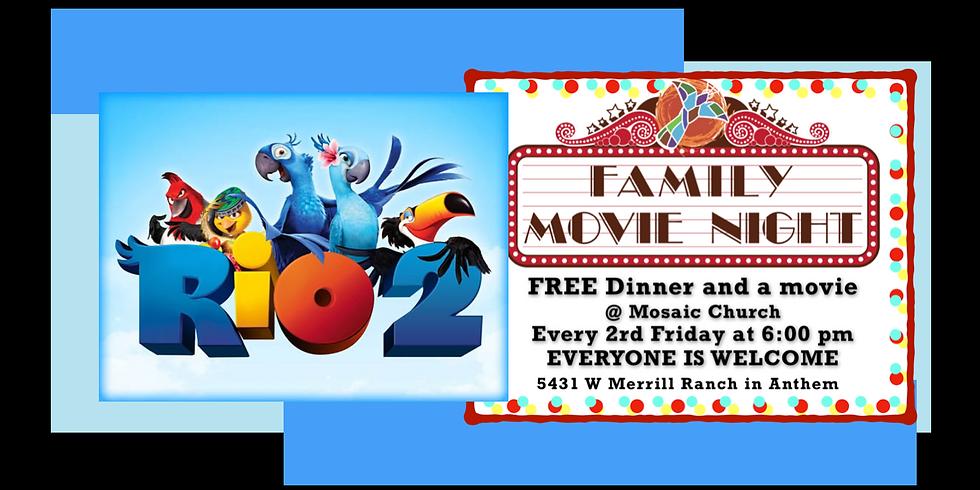 Mosaic Family Movie Night