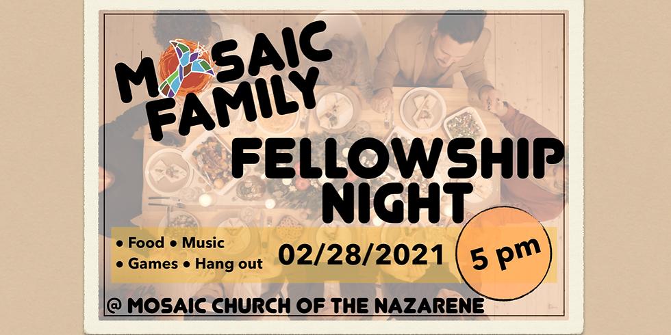 Family Fellowship Night (1)