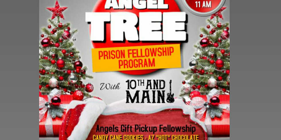 Angle Tree Gift Party