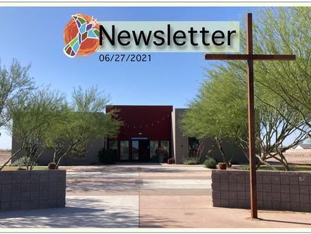 06/27/2021 Newsletter