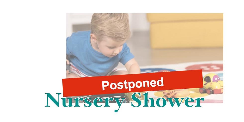 Postponed -Church Nursery Shower