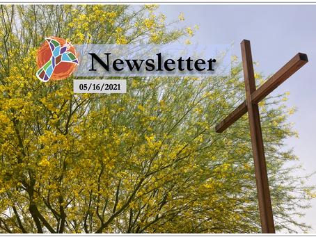 05/16/2021 Newsletter