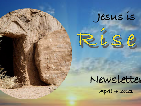 04/04/2021 Newsletter