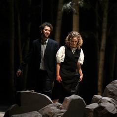 Johannes Fritsche (Robert) & Theresa Immerz (Clara)