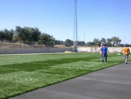 """Construcción campo de futbol 11 """"Entrenucleos"""""""