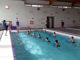Actividades de natación en Alcalá de Guadaira