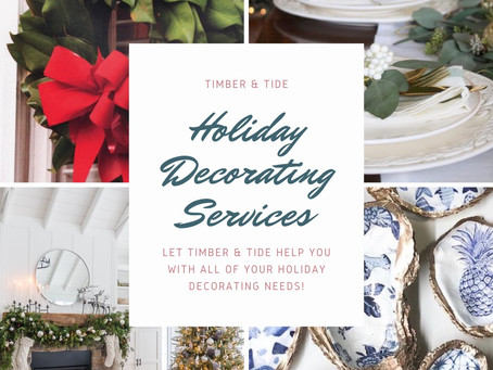 Holidays made easy with Timber & Tide