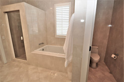Master Tub & Shower (1)