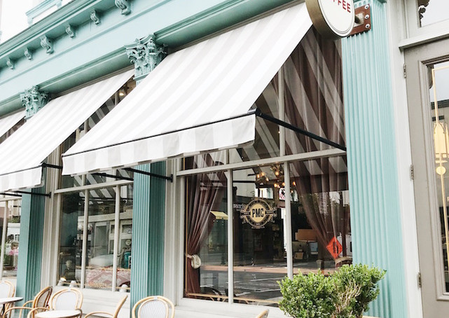 Stop into Paris Market to peruse the Parisian decor, or simply sit outside the cafe while you sip on lattes and savor lavender macarons looking out over Broughton Street.
