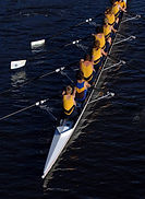 Rowers and Boat