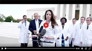 CENSORED — AMERICAN DOCTORS ADDRESS COVID-19 MISINFORMATION WITH CAPITOL HILL PRESS CONFERENCE