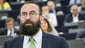 RED HANDED Married Hungarian MEP for anti-LGBT party fled 20-strong orgy jumping out window