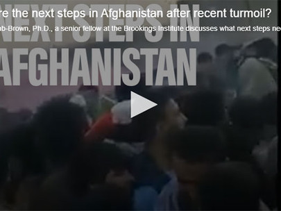 It's official: The US has no boots on the ground in Afghanistan
