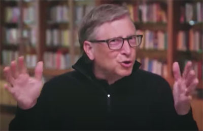 """Bill Gates: """"You Don't Have a Choice... Vaccinate the Entire Population"""""""