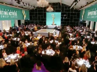 Maskless celebs gather for Emmys while LA County requires masks for indoor events.
