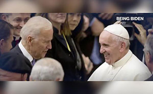 Pope Francis extends his 'cordial good wishes' to pro-abortion President Biden