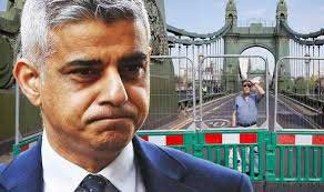 Boris 'takes back control' of London after becoming 'fed-up' with Sadiq Khan's failures