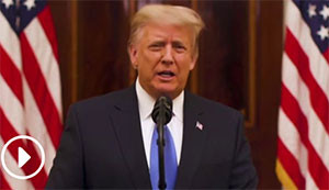 Donald Trump's farewell address: 'Our movement is only just beginning'