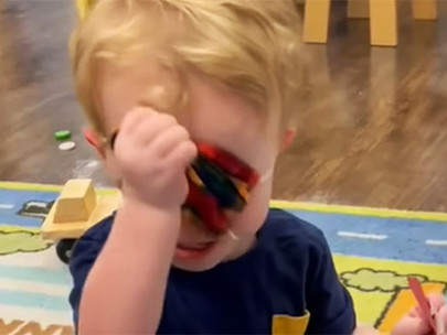 Video of crying toddler forced to wear mask at daycare sparks massive backlash: 'This is child abuse