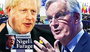 I stopped Brexit Party destroying Tories now Boris must stand up for Brexit– NIGEL FARAGE