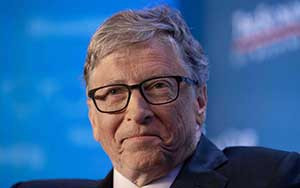 Bill Gates warns of 'mutually exacerbating catastrophes' and calls for collaboration to defeat virus