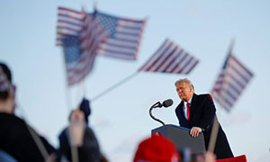 Trump Leaves Washington, Tells Supporters: 'We Will Be Back in Some Form'