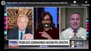 Take Action: Tell FOX Business to Correct False Statements on Vaccine Liability Laws