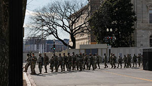 12 US National Guard troops removed from inauguration - with some 'linked to far right'