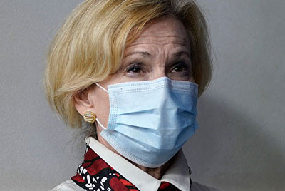 Dr. Deborah Birx Says Americans May Have to Start Wearing Masks Inside Their Own Homes