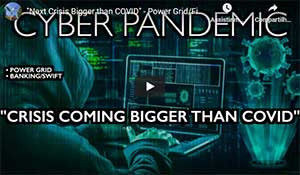"""Next Crisis Bigger than COVID"" – Power Grid/Finance Down – WEF's Cyber Polygon"