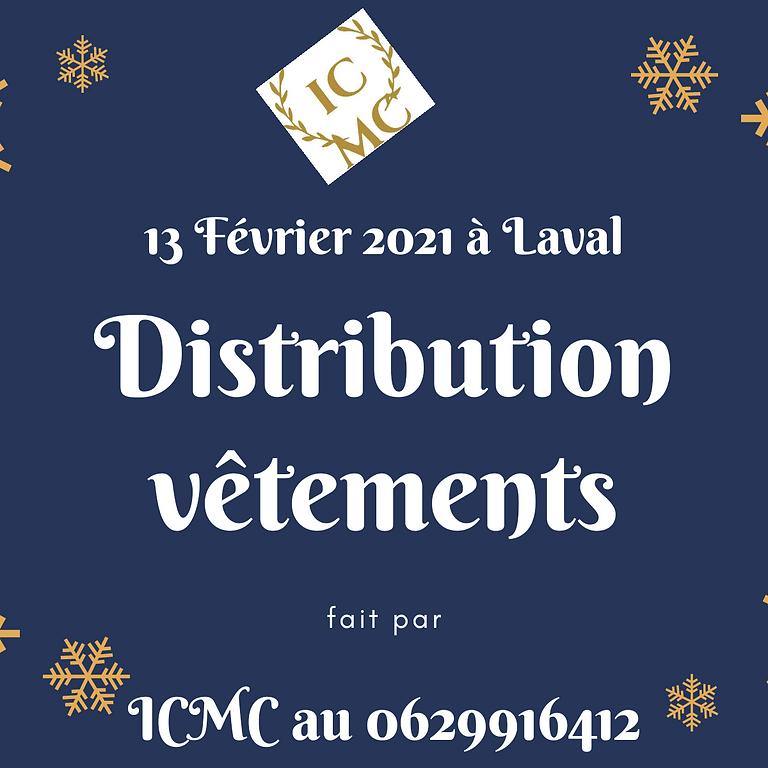 Distributions des vêtements à Laval