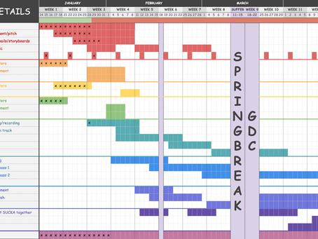 Week 3 - Schedule / Timeline