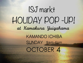 HOLIDAY POP-UP!