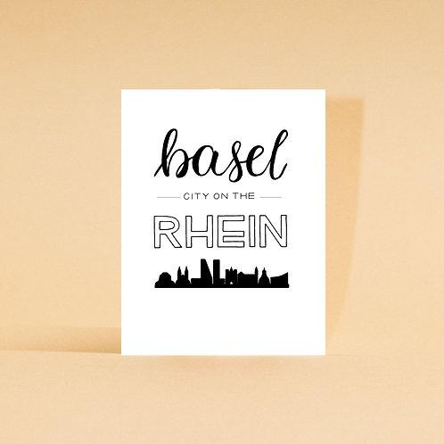 Basel City on the Rhein